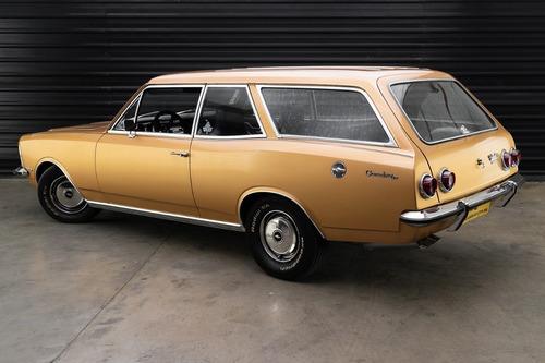 1979 Chevrolet Caravan Comodoro 6 Cilindros De Plaqueta
