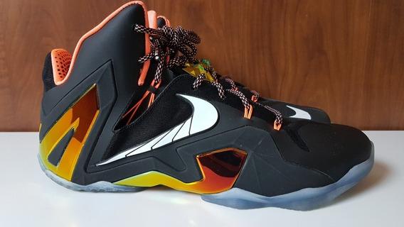 Tênis Nike Lebron 11 Elite - Golden Pack - Tam. 46 - Usado