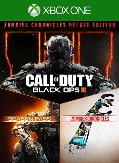Call Of Duty Black Ops Iii Zombies Deluxe Xbox One Conectado