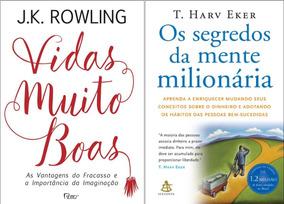 Livro - Vidas Muito Boas + Os Segredos Da Mente Milionária