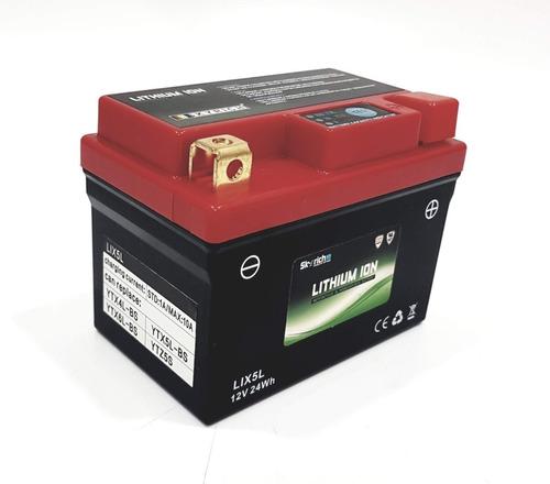 Imagen 1 de 3 de Bateria Moto Litio Lix5l = Ytz5s Ytx5 Ytx4 Ytx6 Skyrich