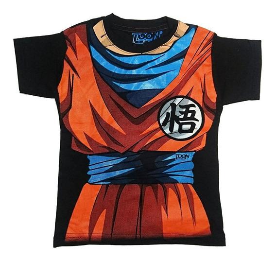Playera Dragon Ball Z Goku Para Niño