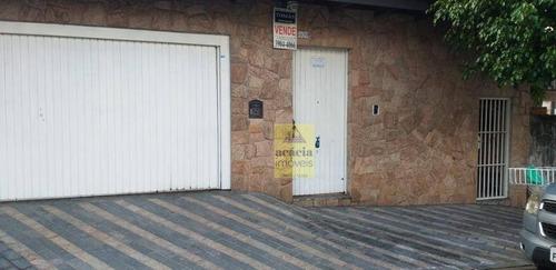 Imagem 1 de 2 de Sobrado Com 3 Dormitórios À Venda, 260 M² Por R$ 1.200.000,00 - Jardim Pinheiros - São Paulo/sp - So2017