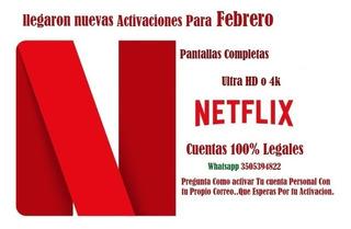 Tus Peliculas Y Series Favoritas De Netflix - Saldo $32 Dias