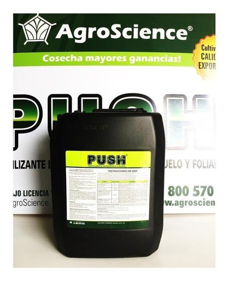 10 Lt Push 8 24 7 Aminoacidos Arrancador Fertilizante Suelo