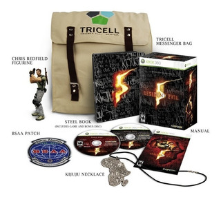 Resident Evil 5 Collectors Editon Xbox 360