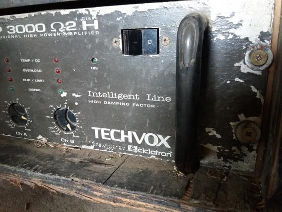 Amplificador Potencia Tip 3000 Ciclotrom