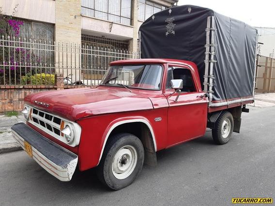 Estacas Dodge D100 2600cc