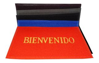 Tapete Bienvenidos 58x37 Cm Entrada 34940-2