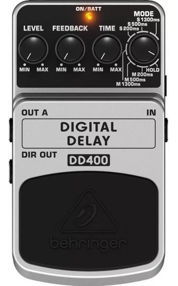 Pedal Behringer Digital Delay Dd400 Usado Barato- Boss