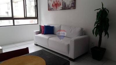 Flat 1 Quarto - Boa Viagem - Com Taxas Inclusas - Fl0054