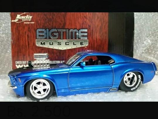 Carro Coleccion Jada Ford Mustang Boss Escala 1/24