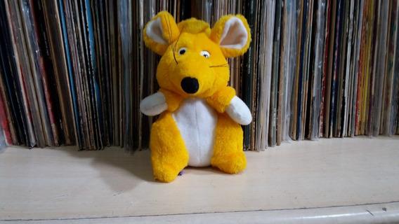 Boneco Pelúcia Rato Amarelo De Chapéu / Cloud 9 Toys