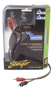 Stinger Cable Rca Si1217 Serie 1000 2 Ch 17 Ft 5.18 Mts