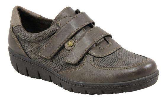 Zapato Stitching Mujer Urbano Con Abrojos