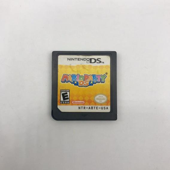 Mario Party Nintendo Ds 3ds Original Americano