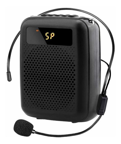 Aplificador Voice Amplifier Portable Fm Radio Wired