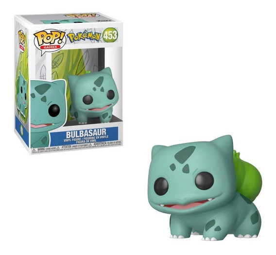 Funko Pop Pokemon Bulbasaur #453 (en D3 Gamers)
