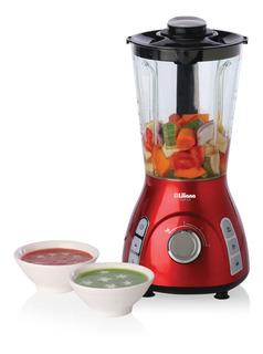 Máquina Para Sopa 1050w 1,2lts + Licuadora De Pie Liliana 450w 1,5lts As800