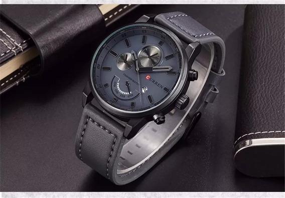 Relógio Curren 8217 Importado Original Barato