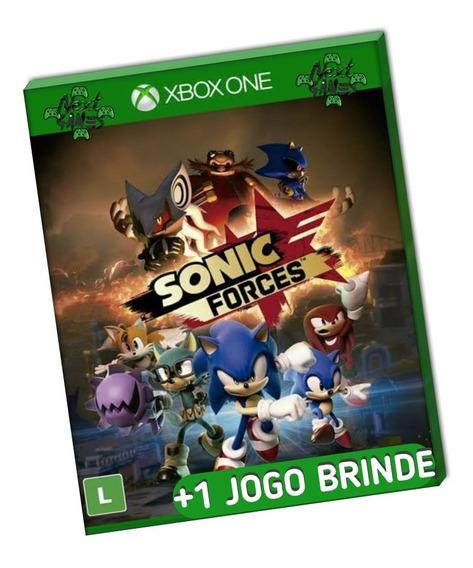 Sonic Forces + Brinde Xbox One Mídia Digital