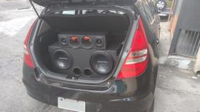 Caixa Som Automotivo Trio Completa Corneteira Modulo