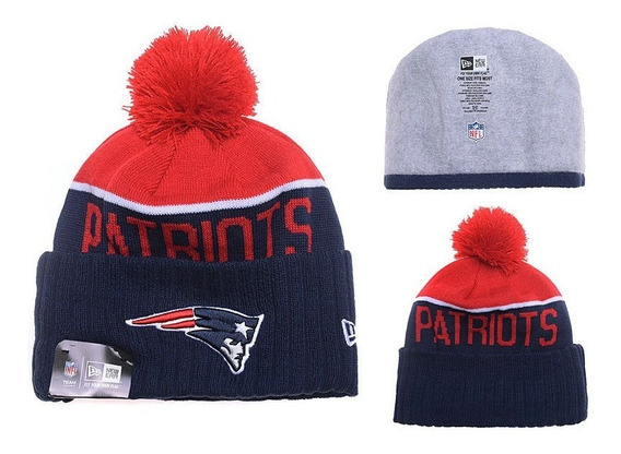 Touca Gorro Beanie New England Patriots Nfl - Tom Brady New Era Original - Importado