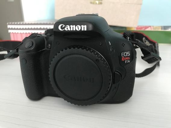 Câmera Canon T3i (somente Corpo) - Trabalho Ou Lazer!