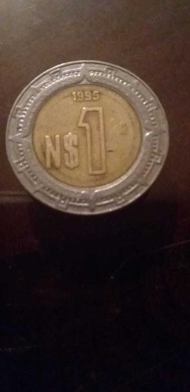 Moneda De Un Nuevo Peso Mexicano De 1995