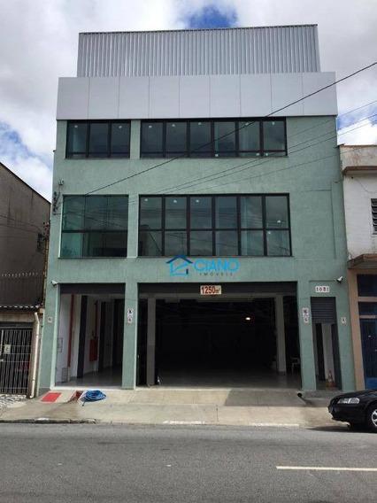 Prédio Comercial Para Alugar Por R$ 21.000/mês - Pari - São Paulo/sp - Pr0041