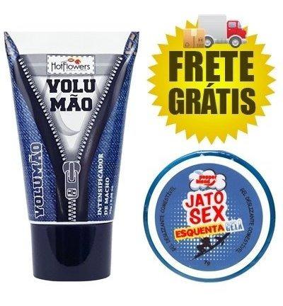 Gel Volumão Original + Exitante Esquenta Gela - Frete Grátis
