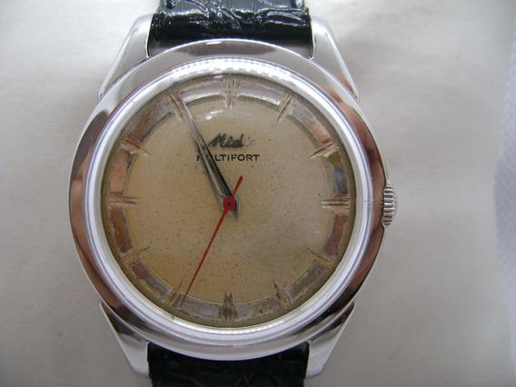 Reloj Mido Multifort Original Automatico Suizo Vintage