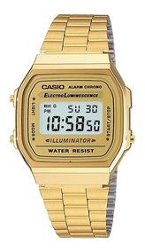 Relógio Casio Original Unissex Retrô A168wg-9wdf.
