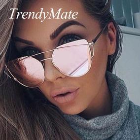 127ae2472 Oculos Espelhado Rose 2018 De Sol - Óculos no Mercado Livre Brasil