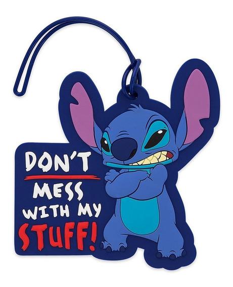 Etiquetas De Identificación De Equipaje De Disney Stich