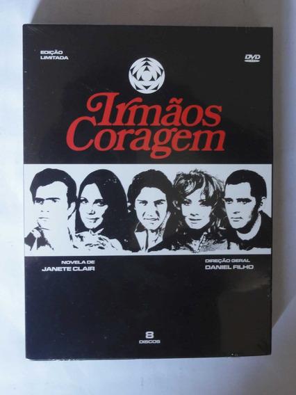 Dvd Box Irmãos Coragem (8 Dvds) Digipack Original Lacrado!!
