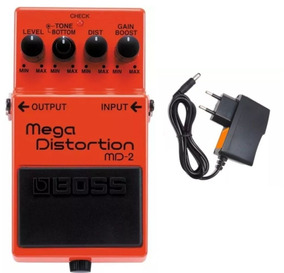 Pedal Boss Md 2 Mega Distortion Md2 Original - Kadu Som