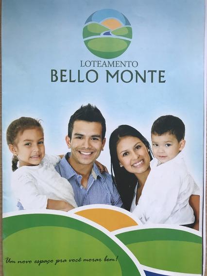 Vendo Loteamento Bello Monte Em Sr. Do Bonfim - Ba