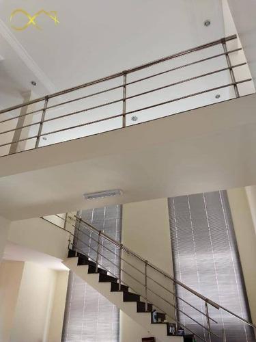 Imagem 1 de 30 de Casa Com 4 Dormitórios À Venda, 252 M² Por R$ 930.000,00 - Condomínio Terras Do Fontanário - Paulínia/sp - Ca1764