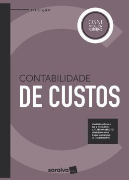 Contabilidade De Custos - 5ª Ed