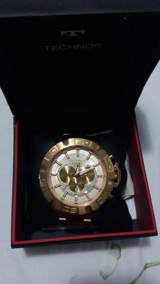 Relógio Technos Legacy Dourado Masculino Js25ba/4x