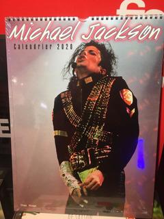 Calendario 2020 Michael Jackson