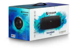 Caixa De Som 50w Soundbox Two Com Bateria Frahm Preta