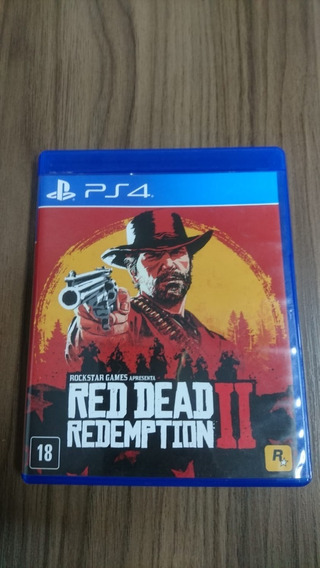 Red Dead Redemption 2 - Ps4 - Completo!