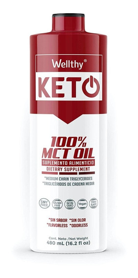 Wellthy Keto Mct Oil Aceite Mct 480ml Se