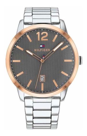 Relógio Masculino Tommy Hilfiger Prata! 44mm! Original