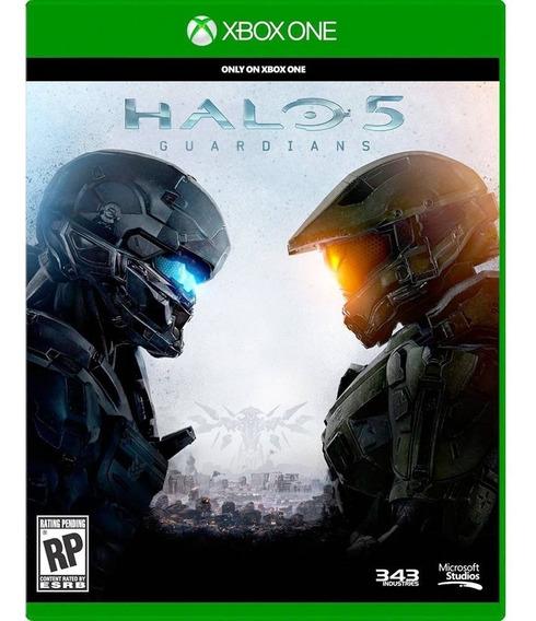 Halo 5 Guardians Xbox One Mídia Física Original E Lacrado