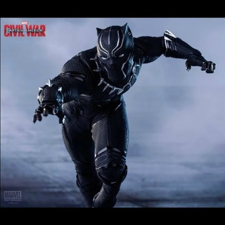 Black Panther Civil War 1/10 Iron Studios