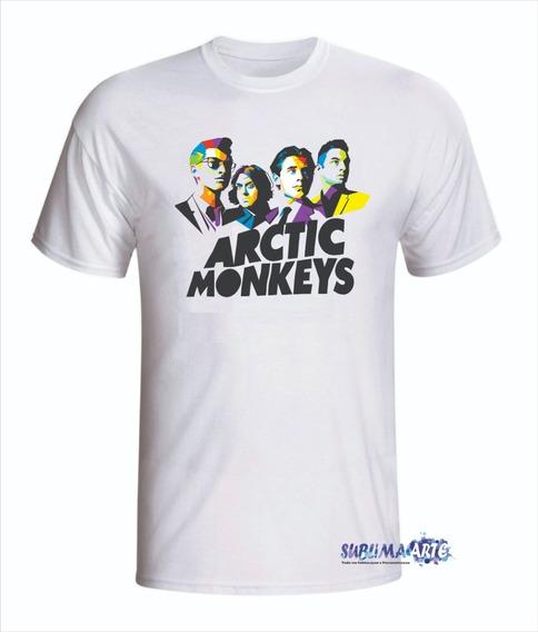 5 Camisetas De Bandas De Rock - Promoção Em Todas Cores