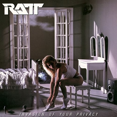 Ratt Invasion Of Your Privacy Cd Uk Import